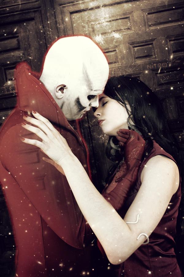 Deadman and Madame Xanadu - Justice League Dark by WhiteLemon