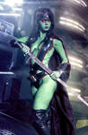 Gamora - Guardians of the Galaxy - Marve Comicss by FioreSofen