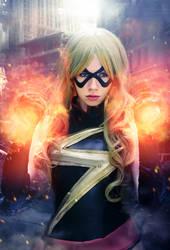 Ms.Marvel - Marvel Comics by FioreSofen