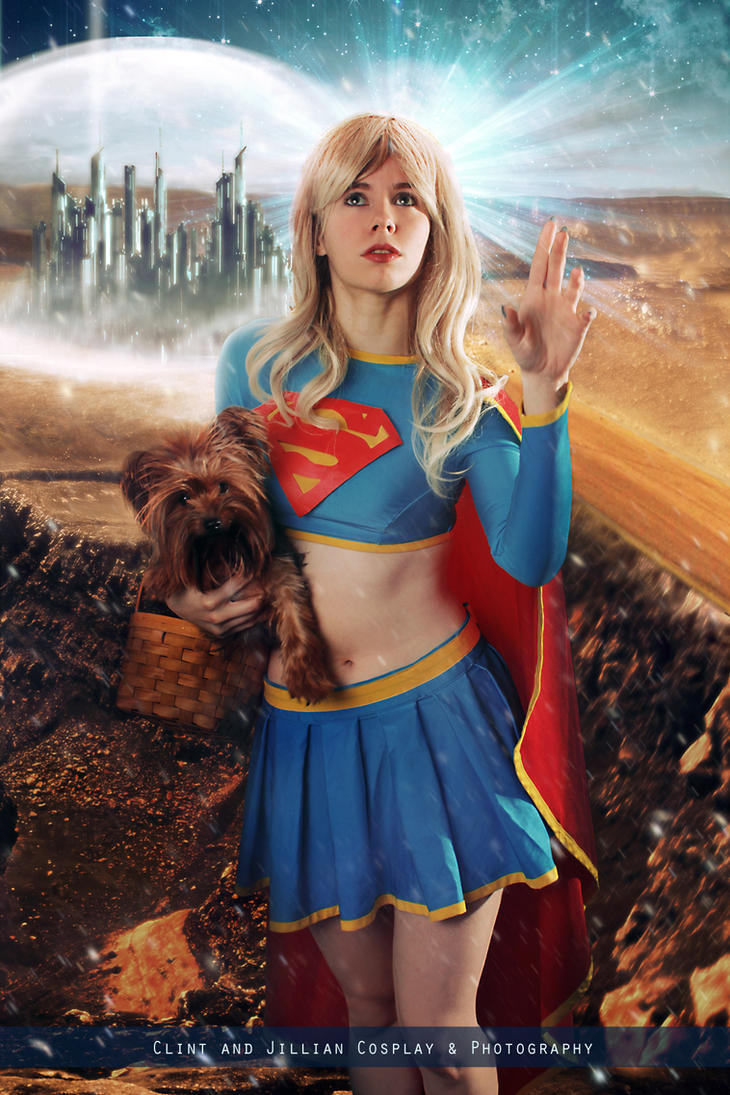 Supergirl: Wizard of Oz Tribute - DC Comics by FioreSofen
