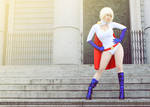 Powergirl - Justice Society of America - DC Comics