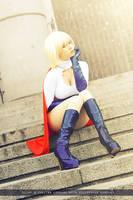 Powergirl - DC Comics by FioreSofen