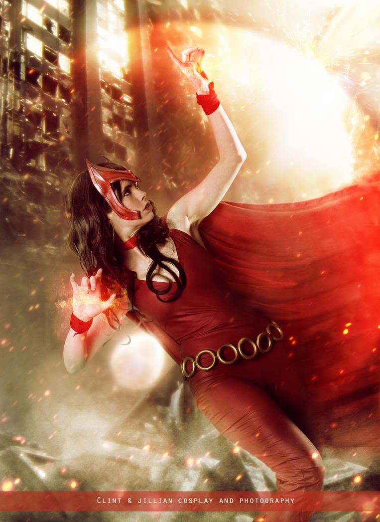 Scarlet Witch - Avengers - Marvel Comics by WhiteLemon