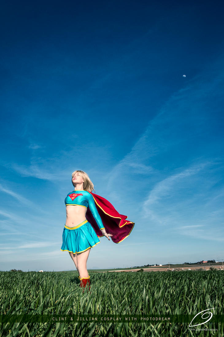 Supergirl - Welcome back - DC Comics by WhiteLemon
