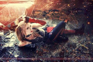 Harley Quinn - Batman: Arkham City - DC Comics by FioreSofen