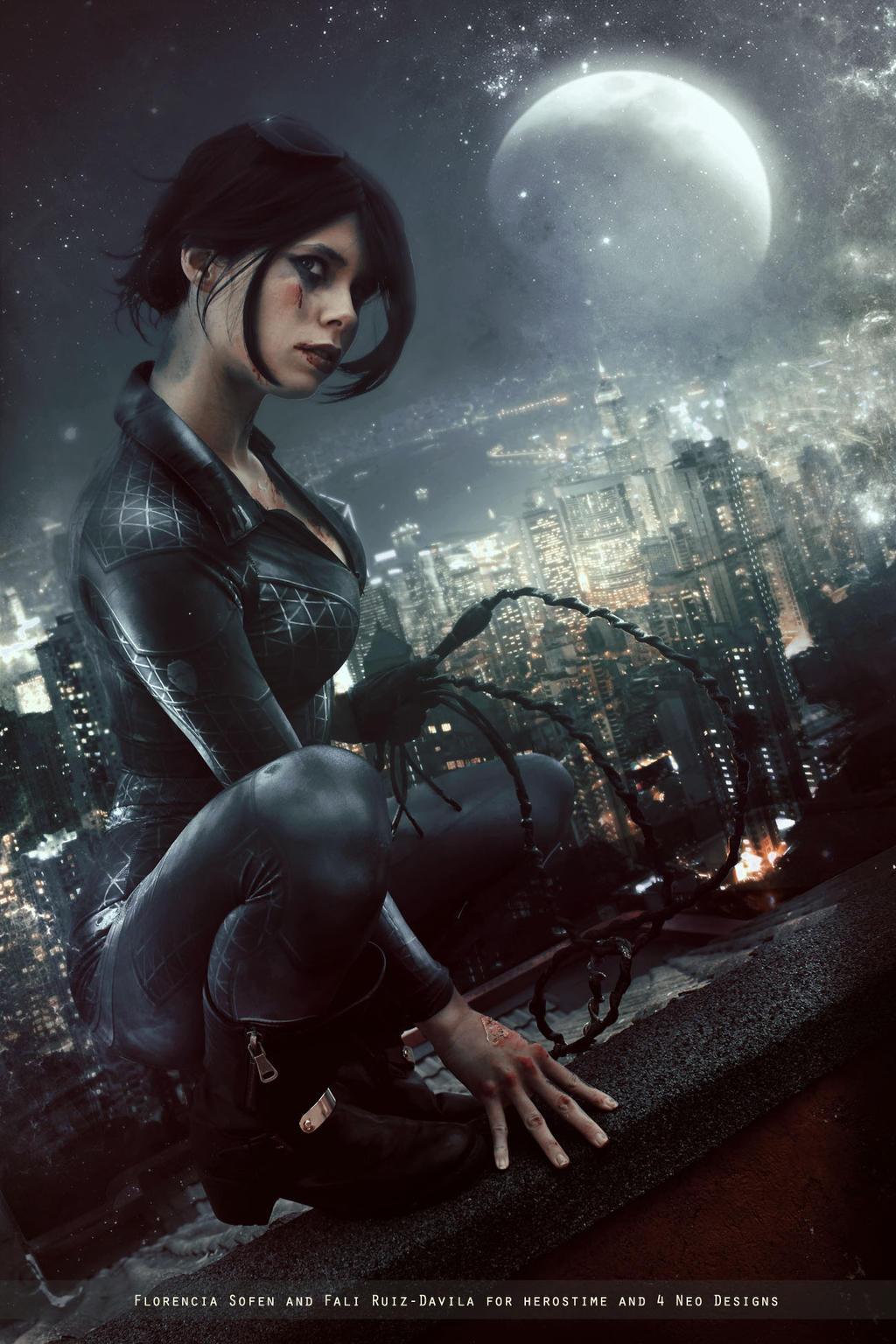 Catwoman Dc Comics By Fioresofen On Deviantart