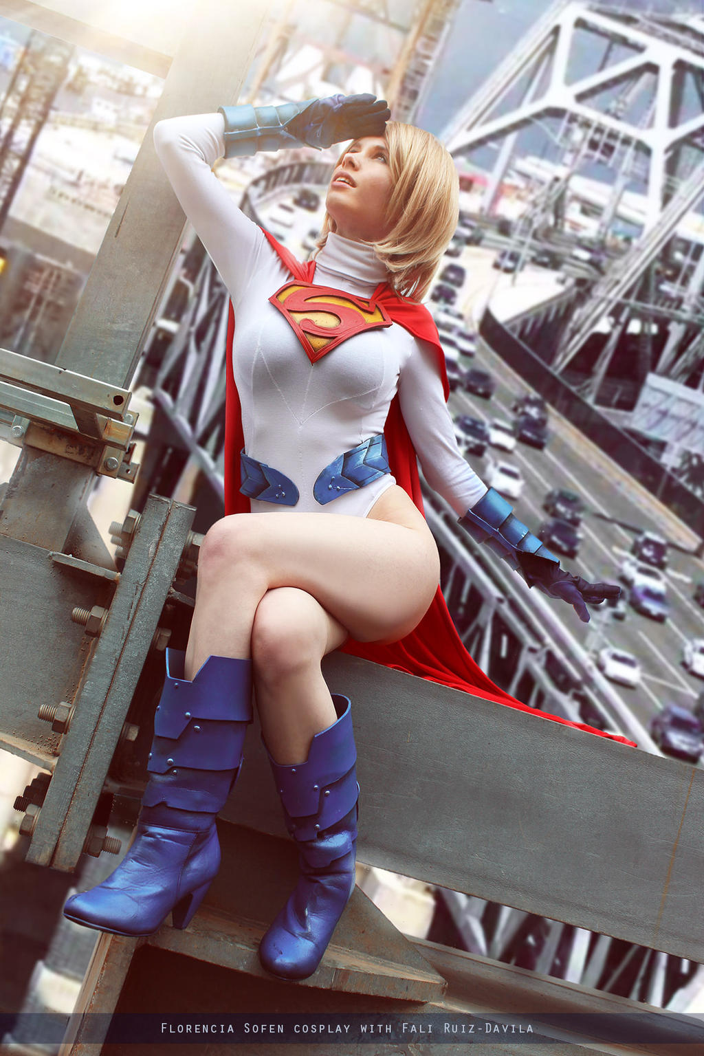 Powergirl - Earth Two: Society - DC Comics by FioreSofen