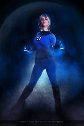Invisible Woman - Fantastic Four - Marvel Comics by FioreSofen
