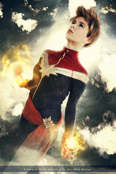 Captain Marvel - Civil War II - Marvel Comics by FioreSofen