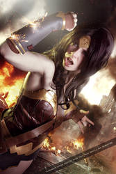 Wonder Woman - Justice League Movie - DC Comics by FioreSofen