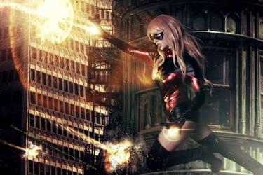 Ms. Marvel - Dark Reign - Marvel Comics by FioreSofen