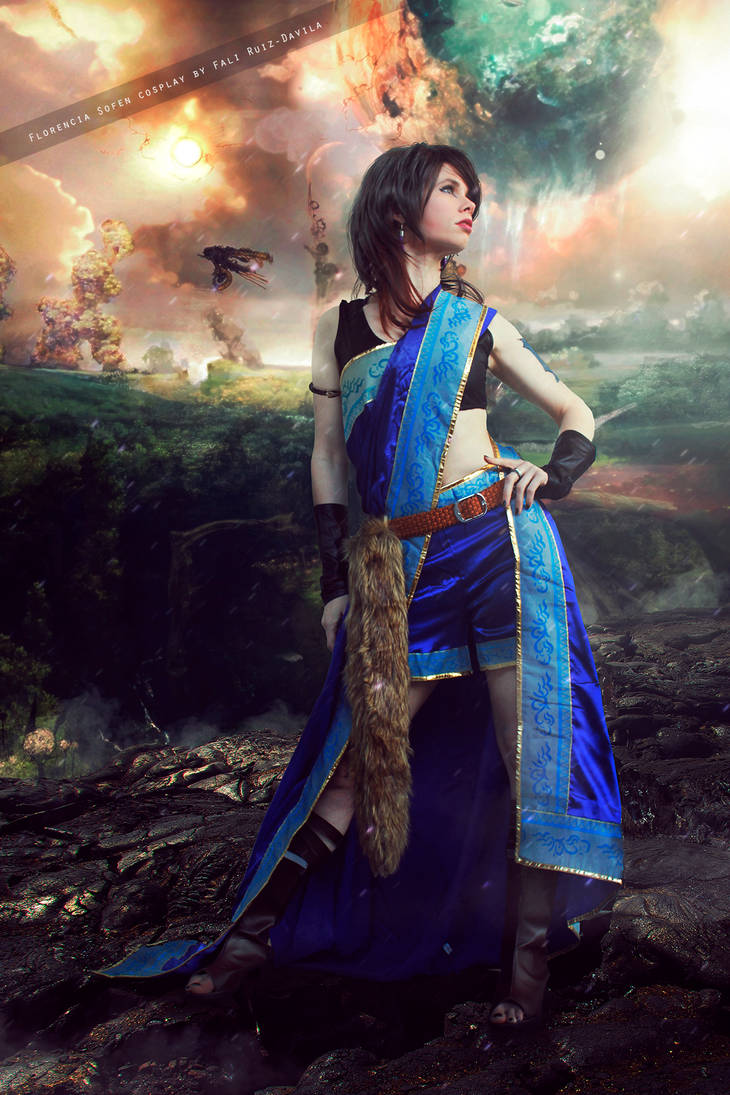 Oerba Yun Fang - Final Fantasy XIII by FioreSofen