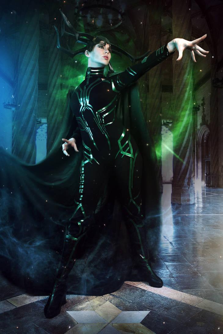 Hela - Marvel Cinematic Universe by FioreSofen