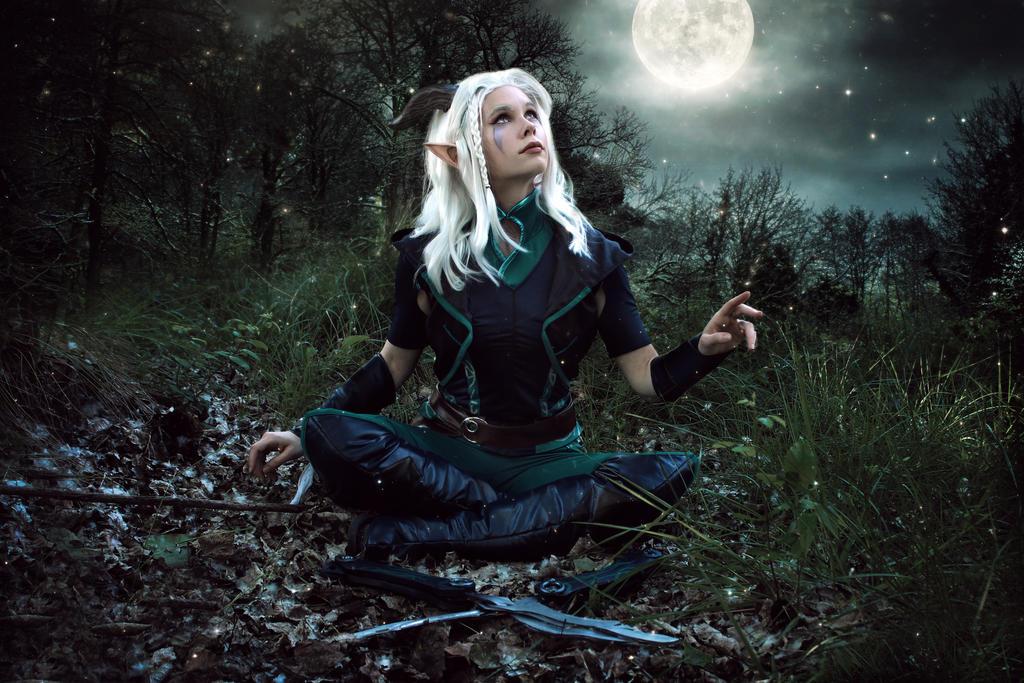 Rayla - The Dragon Prince - Netflix by FioreSofen