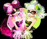Squid Sisters Design