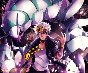 Guzma: Destruction in human form by Invidiata