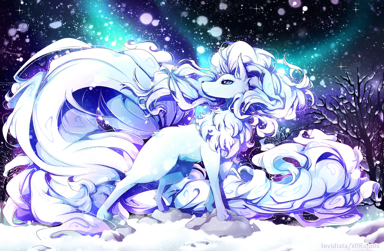 Alola Ninetales by Invidiata on DeviantArt