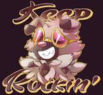 Rockruff Design - Keep Rockin'