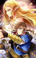 Zelda: Breath of the Wild by Invidiata
