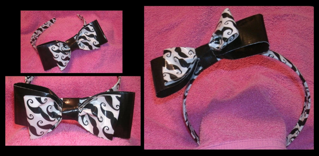 Movember Mustache headband by Catsie95
