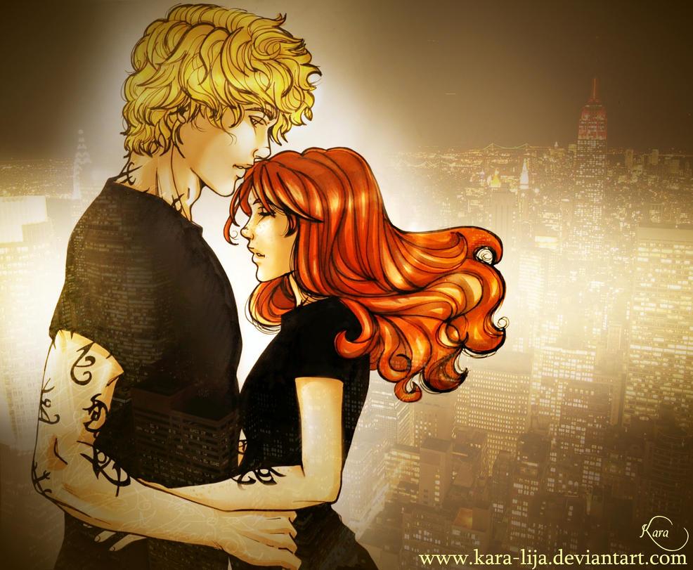 Breathe Me   by kara-lija    Jace And Clary Kiss Gif