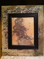 Tea-stained Mermaid by kara-lija