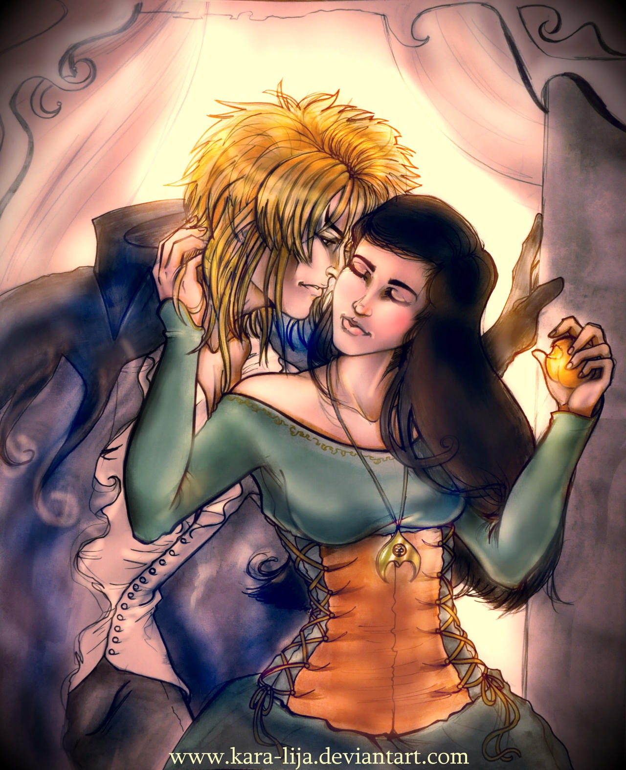 The Goblin King and Queen... by kara-lija