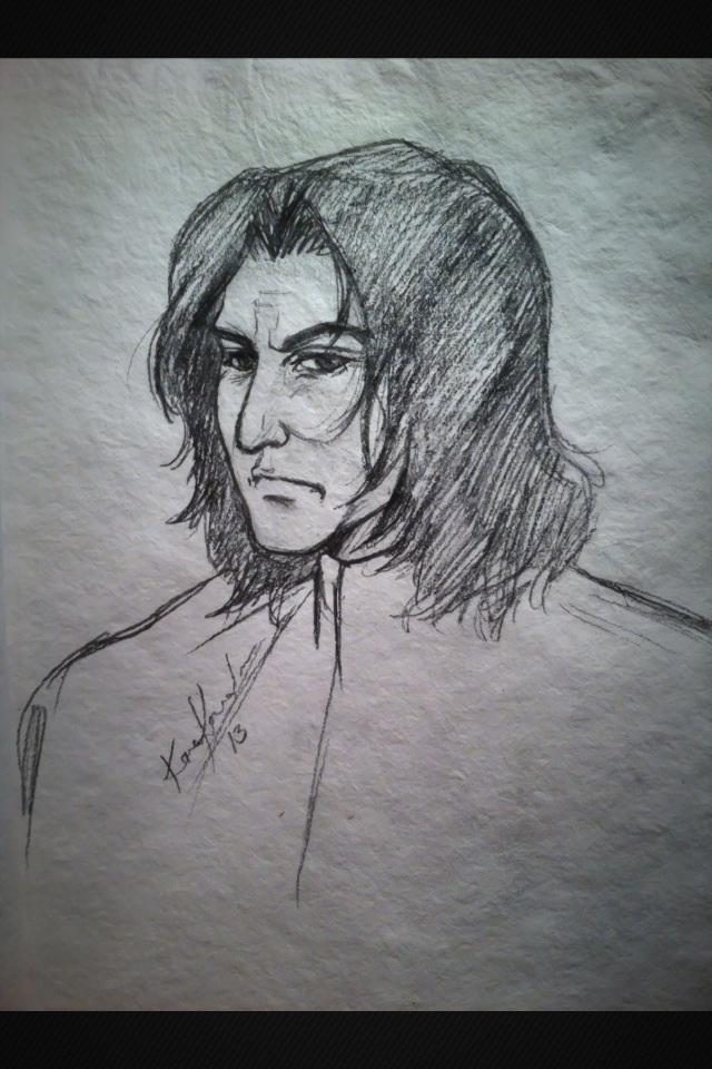 Professor Snape by kara-lija