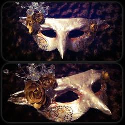 The Goblin Queen mask by kara-lija