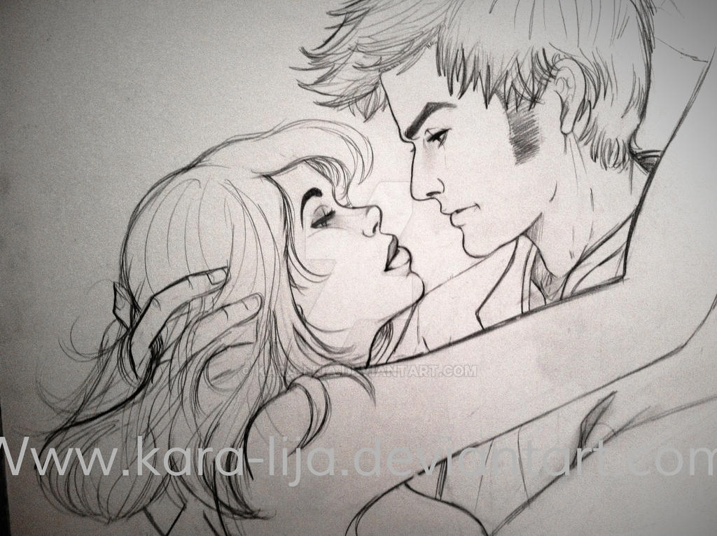In progress...The 10th Doctor and Rose by kara-lija