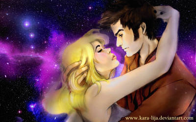 The Tenth Doctor and Rose... by kara-lija