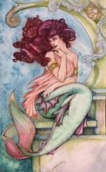 Aubergine Mermaid