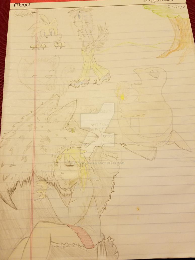 Doodles by RandomFoxFan