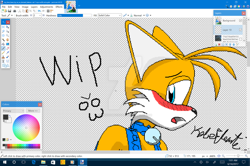 WIP Tails dance Ball with Amy by RandomFoxFan
