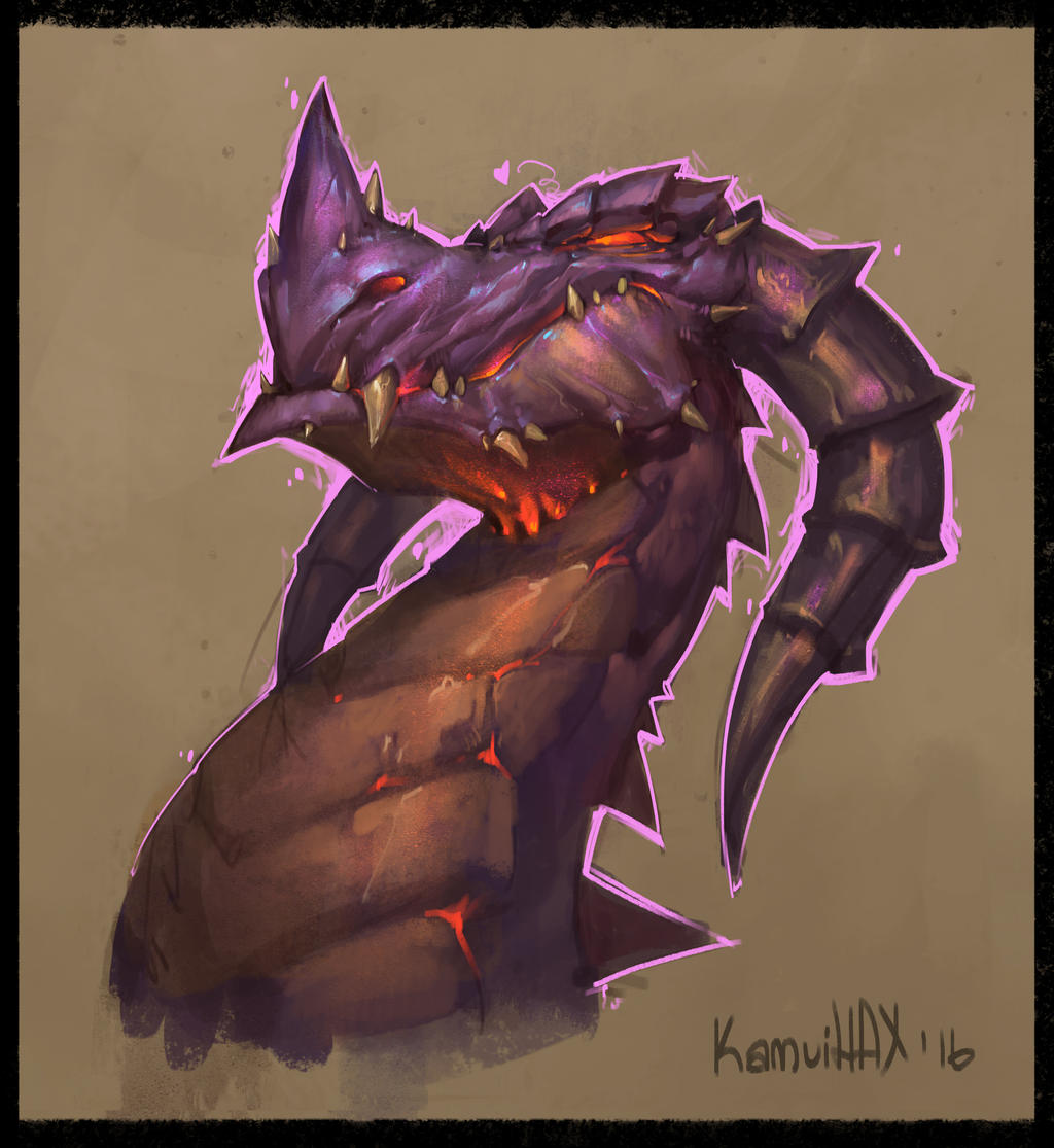 Daily Sketch #42 by KamuiHAX