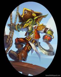 Admiral Hook by KamuiHAX