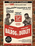 Dudley vs. Balrog poster