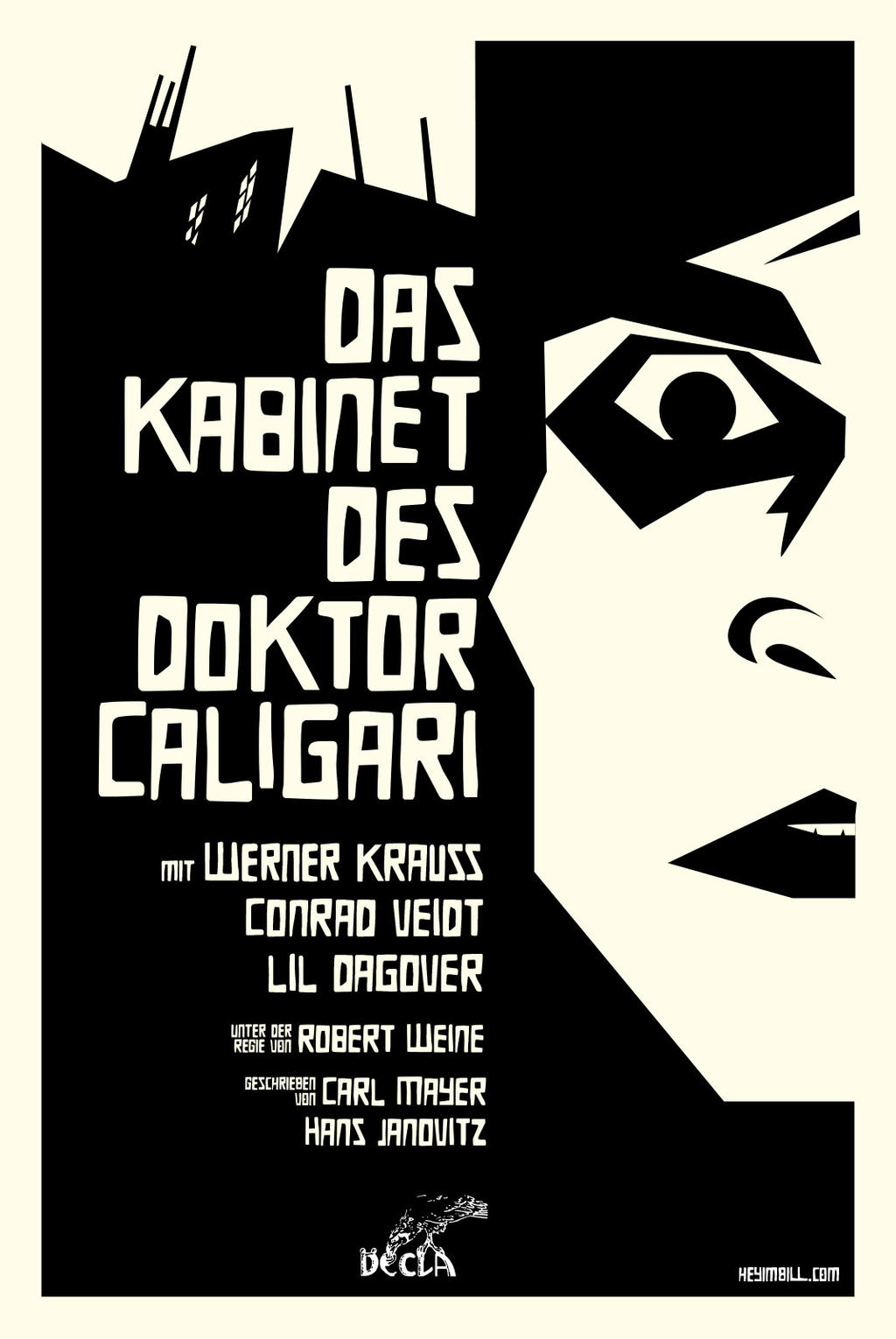 The Cabinet of Doctor Caligari by bowbood