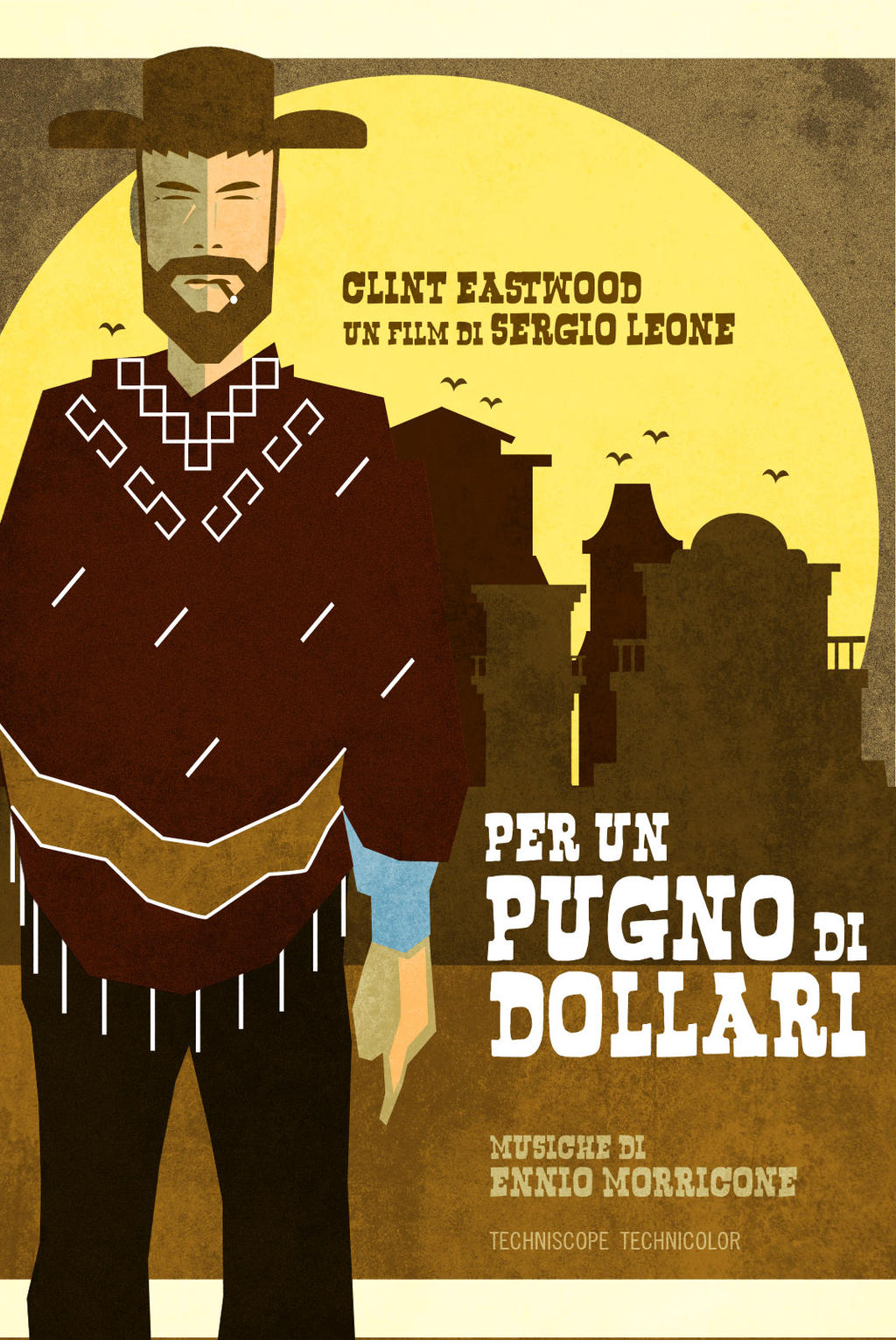 A Fistful Of Dollars by bowbood