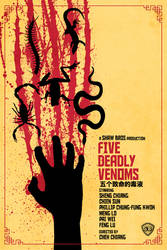 Five Deadly Venoms by bowbood