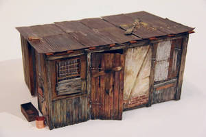 Farm shed in 1:12