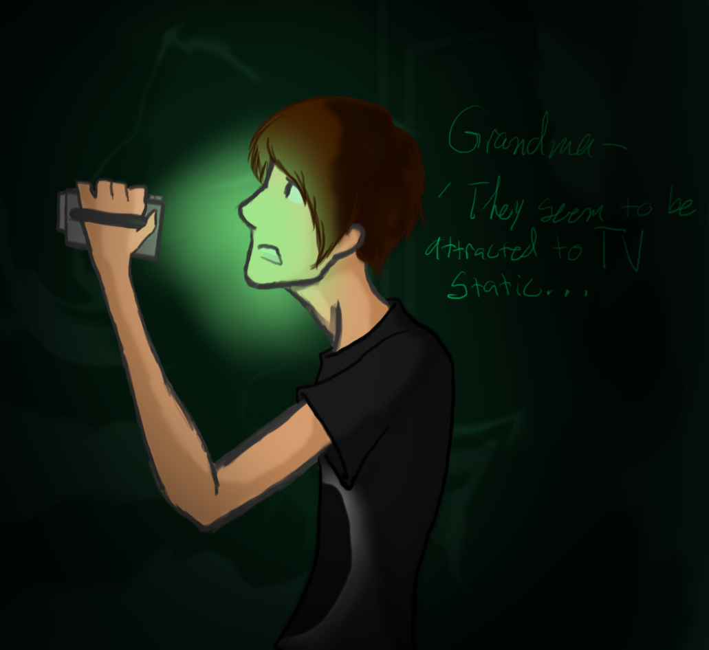 Dan plays outlast by aleu21 on deviantart