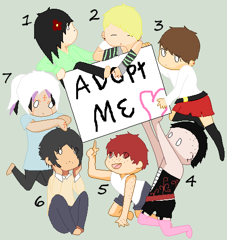 Adoptables 12 (open) by monsters-boy