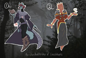 Fancy witches *OPEN 2/2* by LimesAdopts