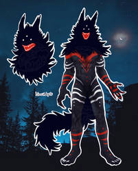 *closed* Monster wolf