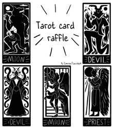 *open* Tarot card raffle