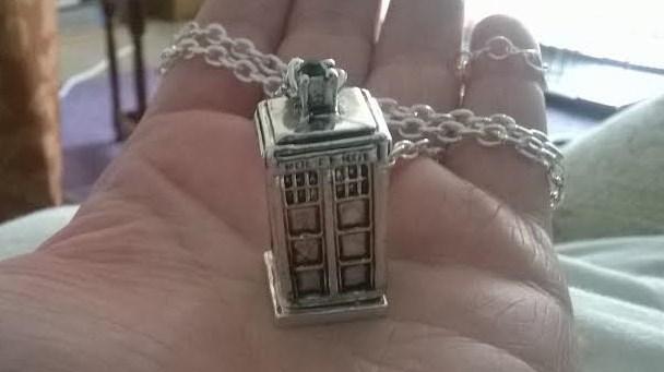 TARDIS Necklace (2) by GallifreyGirl1