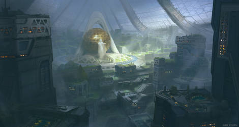 Solar Punk City by Giby-Joseph