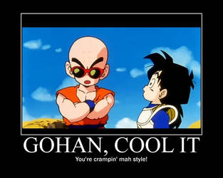 Gohan and Krillin by RawNinjaberry