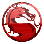 Mortal Kombat logo mixed by Vinis13